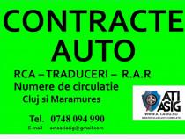 Contracte AUTO CLUJ NAPOCA Inmatriculari AUTO  Complete