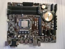Placa de baza ASUS H97M-E, Socket 1150, DDR3, PCI-E + proc