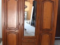 Sifonier cu 3 usi lemn masiv; Dulap cu oglinda; Sifonier cu