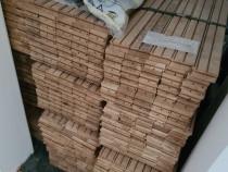 Parchet nou din lemn masiv de stejar, 450x70x22mm, 220mp