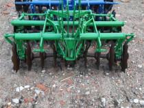 Utilaje după tractor disc în tirant plug cu 2 brazde