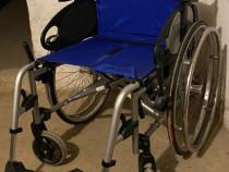 Carut rulant carut scuter persoane cu dizabilitati pliabil