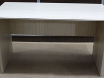 Masa de lucru cu blat solid 130x66 cm; Birou