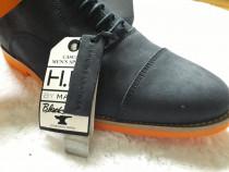 Pantofi noi, casual barbati piele naturala, 41