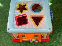 Jucărie masina Montessori cu forme
