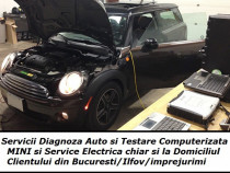Diagnoza auto Mini tester iCom service electrica @ domiciliu