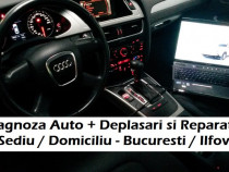 Diagnoza auto testare Audi si service electrica la domiciliu