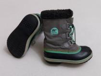 Ghete iarnă, cizme zăpadă SOREL Caribou Waterproof, nr. 34