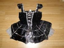 Costum serbare vrajitoare paianjen pentru copii de 4-5-6 ani