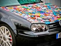 Ieftin! Sticker BOMB - iesiti in evidenta cu masina dvs!