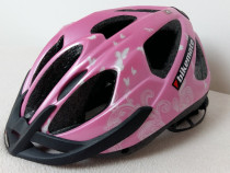 Casca protectie ciclism, Bikemate, marimea 49-54, roz