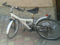 Bicicleta Flyke cadru aluminiu cu suspensii