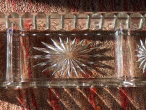 Vas cristal Soennecken pentru accesorii mărunte de birou