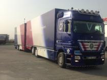 Camion MB Actros cu remorca