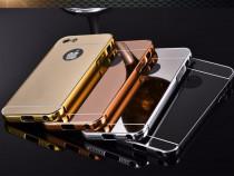 Iphone 5/5s - Bumper Slim Rama Metalica Capac Plastic