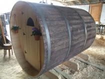 Cabana lemn la comanda