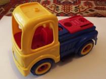 Basculanta +camion plastic