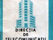 Prefixe şi numere speciale Romtelecom 1988 (broşură)