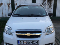 Chevrolet Aveo 1,4 l alb 2007 85000 km abs aer coditionat