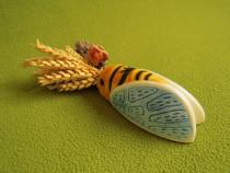 Decoratiune Franta- Provence din ceramica pictata manual