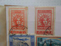 Clasor timbre vechi Finlanda, Grecia, Creta 4