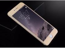 Iphone 6 6s plus - folie sticla securizata contur auriu