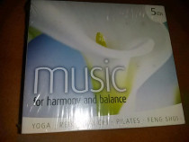 5 cd. audio muzica relaxare for harmony and balance yoga re