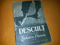 Descult roman de zaharia stancu vol 2 an 1949