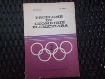 Probleme de geometrie elementara - Pimsner, Popa