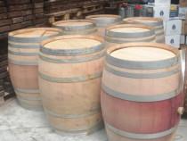 Butoaie lemn stejar vin alb, butoi rosu barrique hordó 220