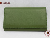 Portofel dama piele naturala j016 green
