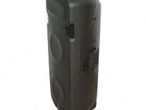 Boxa portabila Ibiza PORT238VHF-BT,1000W cu USB/SD/BT/VHF
