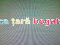 Domeniu web: saraca tara bogata .ro