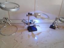 Lupa cu suport (lentila bifocala)+clestisori - 3 modele