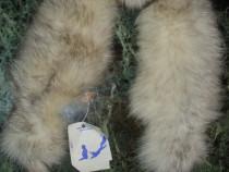 Caciula vulpe   si guler   de   vulpe argintie .
