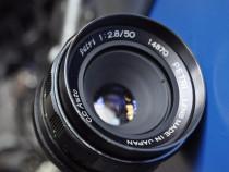 Petri TTL + 50mm f:2.8 aparat foto film 35mm - 1974 - M42