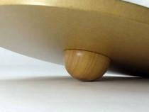 Disc pentru balans (echilibru)-din lemn - diametru 40cm-nou