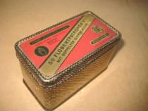 3Cutie veche metalica munitie Flobert Patronen, Alfred Nobel