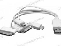 Cablu incarcare iPhone 3, 4, 5, micro USB, mini USB - 173810