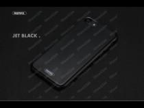 Husa TPU silicon glossy Apple iPhone 7 Remax Jet Black