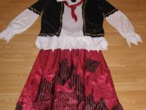 Costum carnaval serbare pirata pentru adulti marime XL