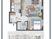 Auchan Titan, apartament 2 camere, imobil nou