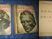 Carte veche romaneasca: Cezar Petrescu-Romanul lui Eminescu