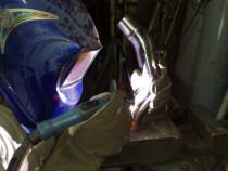 Sudura argon aluminiu , strungarie .