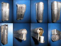 Bricheta veche benzina-Duxi Patent Austria Karat. Metal-crom