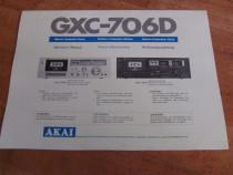 Manual Deck Akay Gxc 706D.