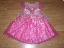 Costum serbare printesa barbie pentru copii de 4-5-6 ani