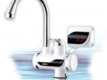 Robinet instant pentru apa calda cu afisaj digital