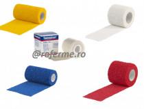 Bandaj elastic autoadeziv, 4,5m x 5- 7,5 - 10cm, div. culori