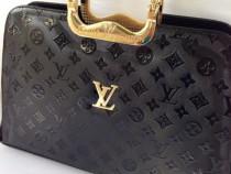 Genti Louis Vuitton Office-manere metalice aurii/logo auriu